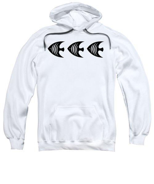 Angel Fish Trio  Sweatshirt