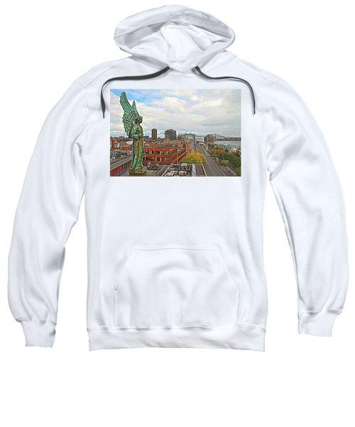 Angel Of Old Montreal Sweatshirt