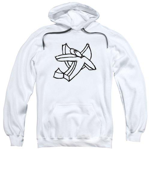 Angelic Sweatshirt by Michelle Calkins