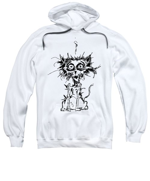 Angst Cat Sweatshirt