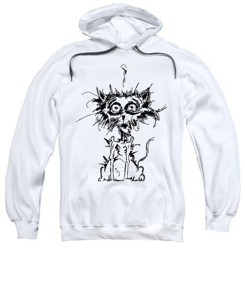 Angst Cat Sweatshirt