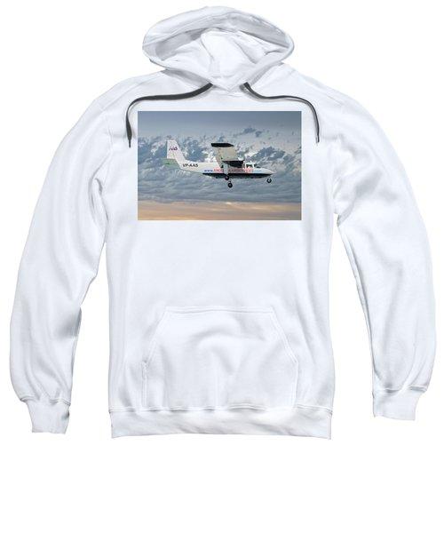 Anguilla Air Services Britten-norman Bn-2a-26 Islander 113 Sweatshirt