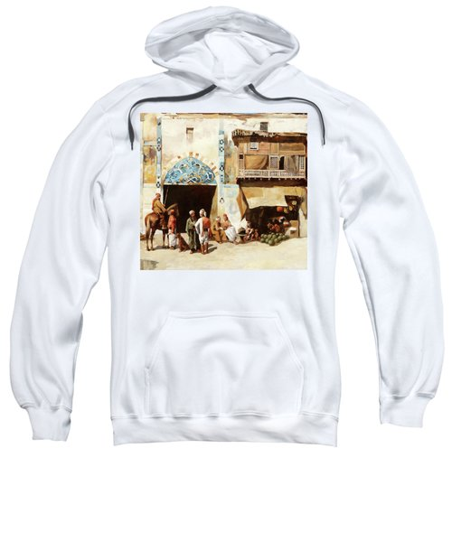 Angurie In Cortile Sweatshirt
