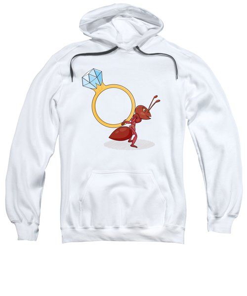 Ant With Big Ring Sweatshirt