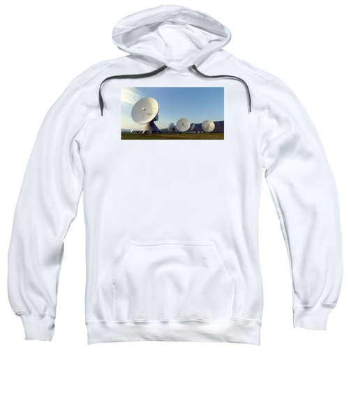 Antenna Array 2 Of The Earth Station  Sweatshirt