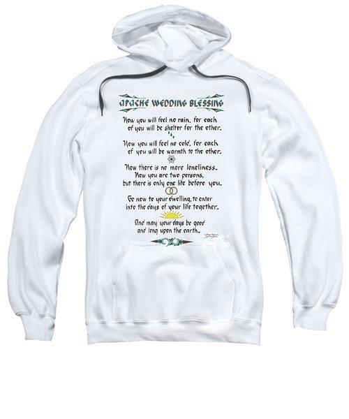 Apache Wedding Blessing Sweatshirt