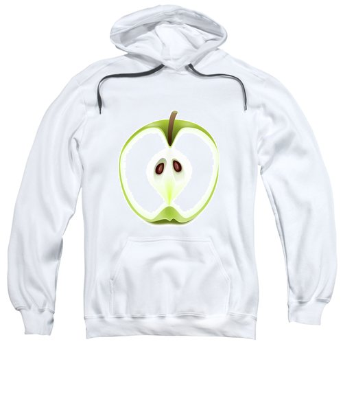 Apple Background. Sweatshirt