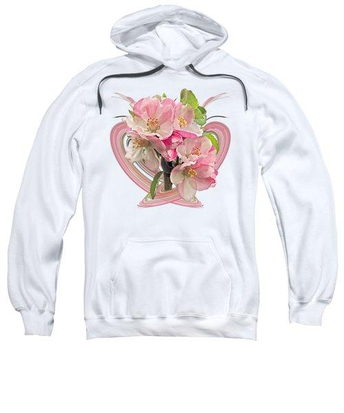 Apple Blossom Abstract Sweatshirt
