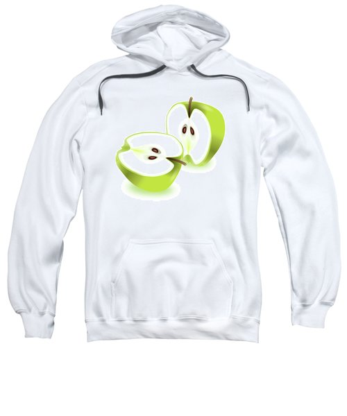 Apple Halves. Sweatshirt