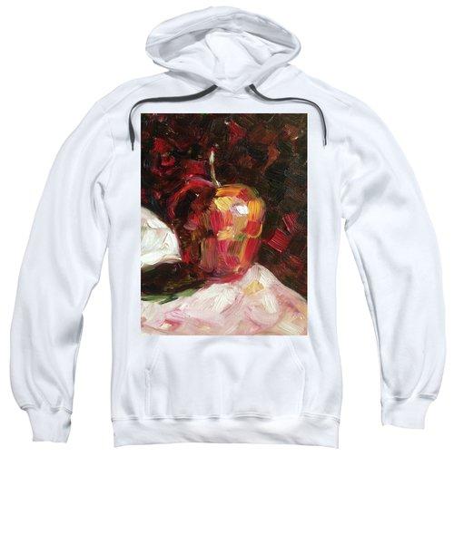 Apple  Sweatshirt by Roxy Rich