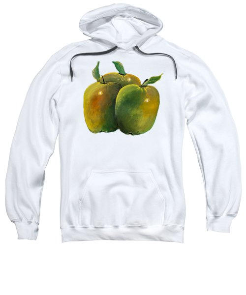 Apple Trio Sweatshirt