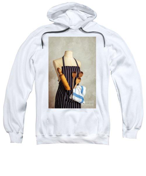 Apron With Utensils Sweatshirt