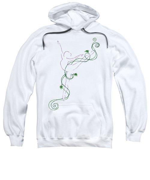 Arabesque IIi - Transparent Background Sweatshirt
