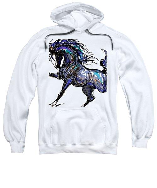 Arabian In Blue Sweatshirt