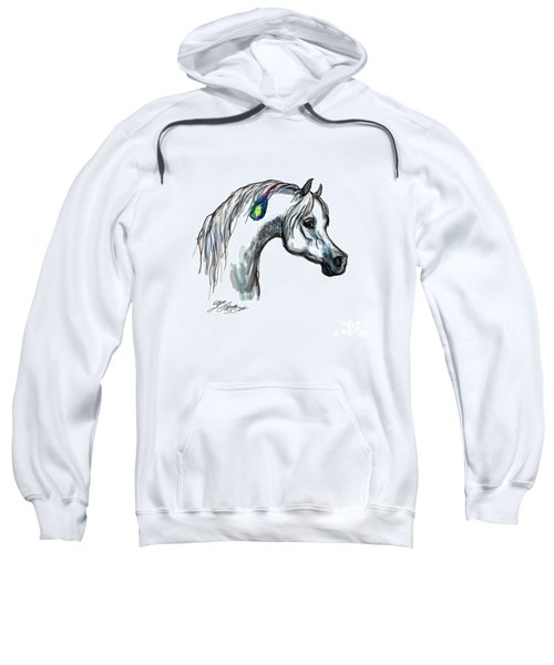 Arabian Peacock Feather Sweatshirt