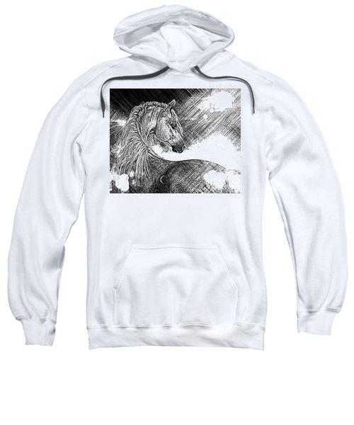 Arabian Sunrise Sketch Sweatshirt