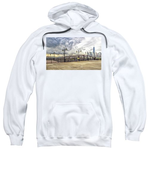 Arc To Freedom One Tower Image Art Sweatshirt