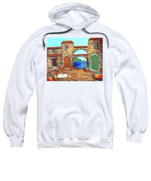 Arches Of Amalfi  Sweatshirt