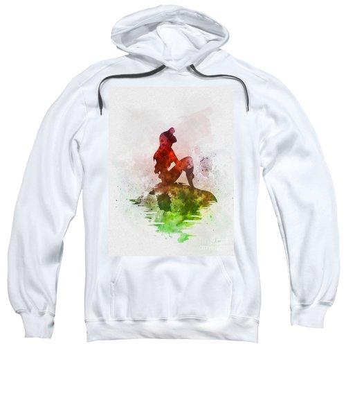 Ariel On The Rock Sweatshirt