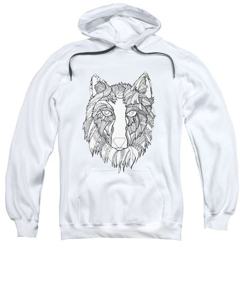 Arnou The Wolf Sweatshirt by Chikkas By Fran Galea