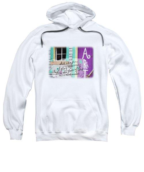 Art 101 - Quote Sweatshirt