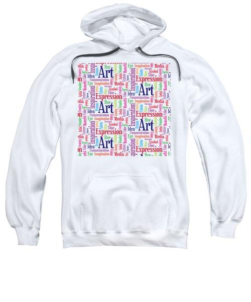 Art And Inspiration Pattern Sweatshirt