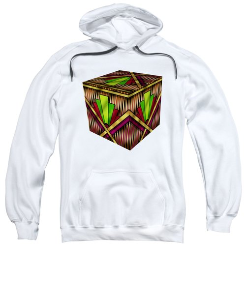 Art Deco 13 Cube Sweatshirt