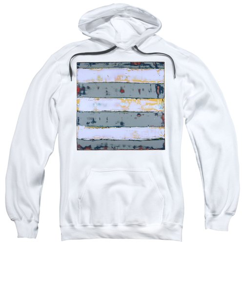 Art Print Stripes Sweatshirt