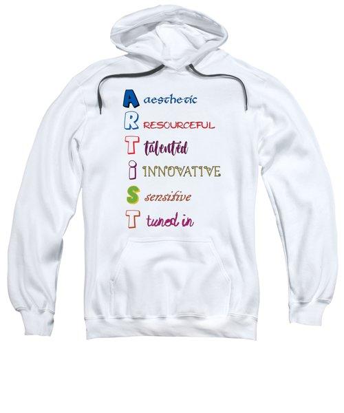 Artist Analogy Sweatshirt