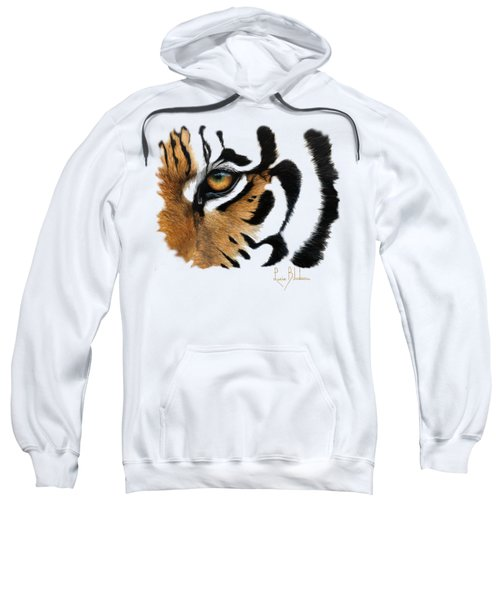 Tiger Eye Sweatshirt by Lucie Bilodeau