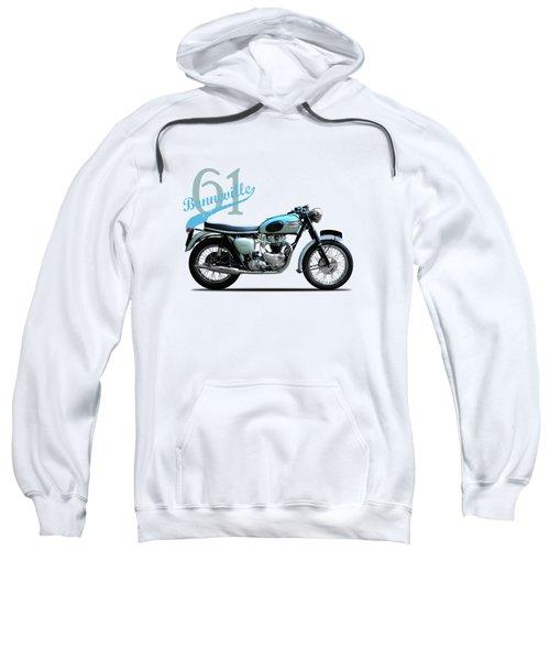 Triumph Bonneville Sweatshirt by Mark Rogan