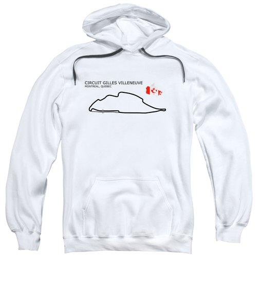 Circuit Gilles Villeneuve Sweatshirt