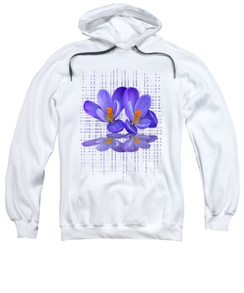 Purple Rain - Vertical Sweatshirt