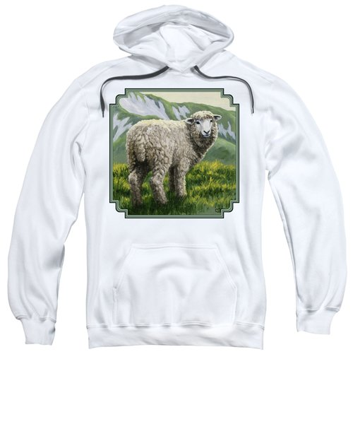 Highland Ewe Sweatshirt by Crista Forest
