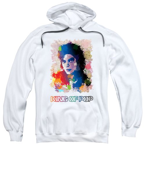 King Of Pop Sweatshirt by Anthony Mwangi