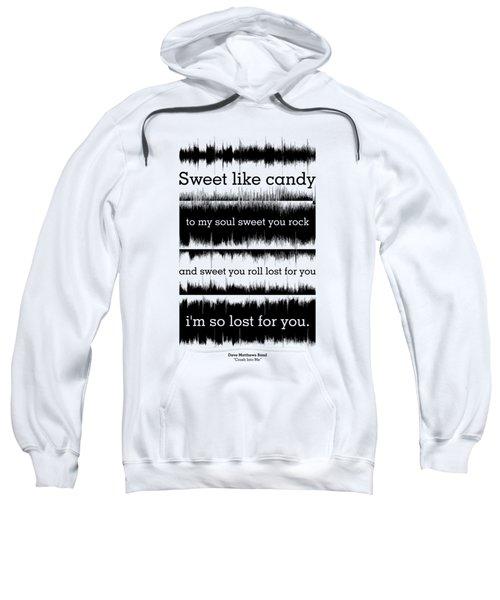 Lyrics Music Waveform Poster Sweatshirt by Lab No 4 - The Quotography Department