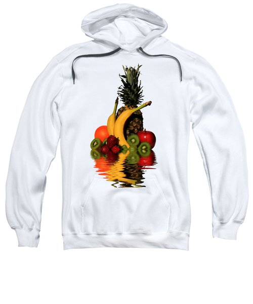 Fruity Reflections - Light Sweatshirt by Shane Bechler