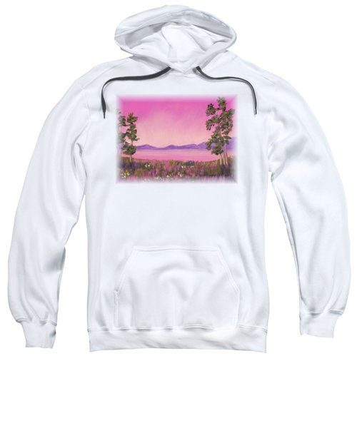 Evening In Pink Sweatshirt