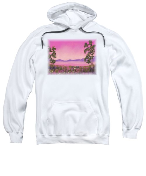 Evening In Pink Sweatshirt
