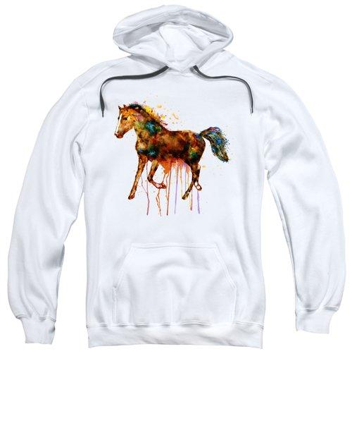 Watercolor Horse Sweatshirt