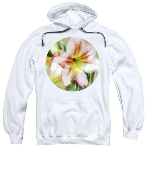Amaryllis By Morning Sweatshirt