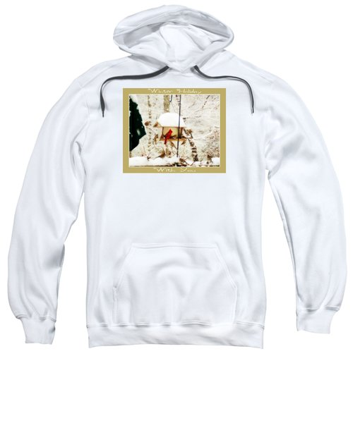 Winter Holiday Sweatshirt by Anita Faye