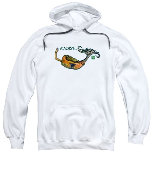 Mermaid Sweatshirt by W Gilroy
