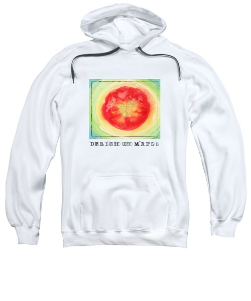 Fresh Tomato Sweatshirt by Kathleen Wong