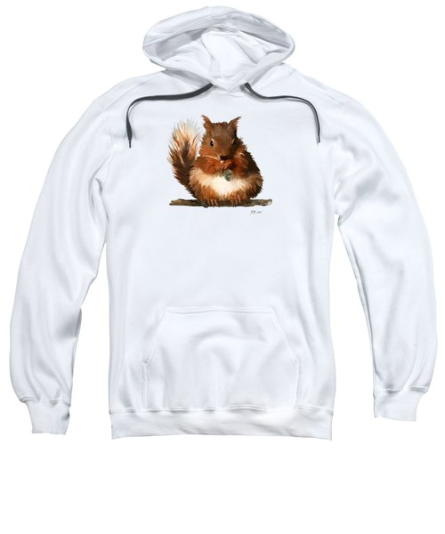 Young Squirrel Sweatshirt by Bamalam  Photography