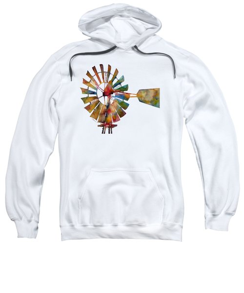 Windmill Sweatshirt by Hailey E Herrera