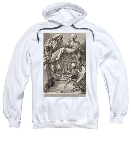 Bernardino Genga - Allegorical Emblems Of Death Sweatshirt