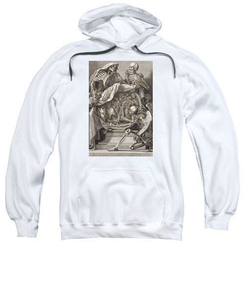 Bernardino Genga - Allegorical Emblems Of Death Sweatshirt