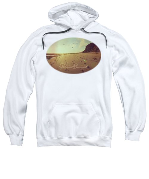 Sweatshirt featuring the photograph Forever Summer 9 by Linda Lees