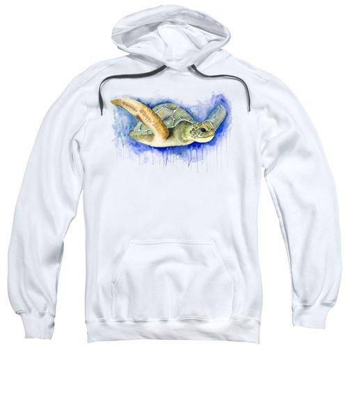 Turtle Sweatshirt by Esther Torres trujillo
